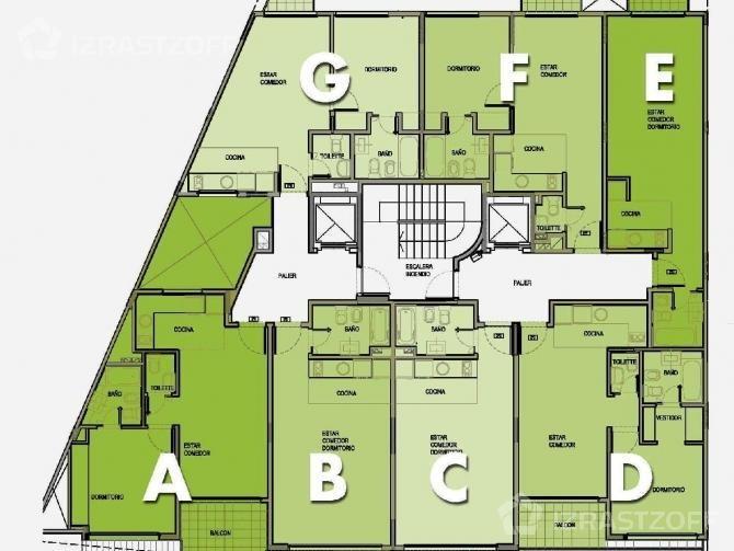 departamento de 2 ambientes de categoria // caballito // venta