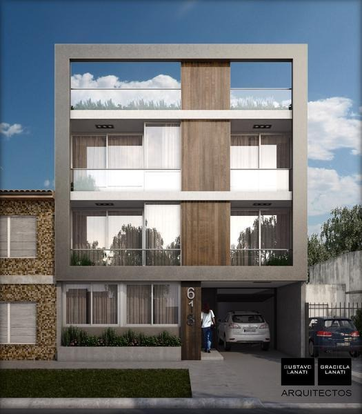 departamento de 2 ambientes en construcción con terraza propia - 2º contrafrente