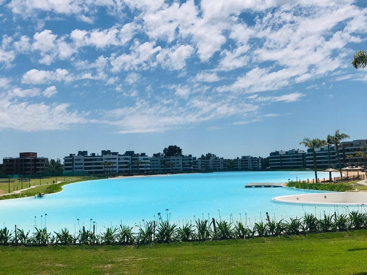 departamento de 2 ambientes en lagoon pilar con terraza  hermosa vista a la laguna