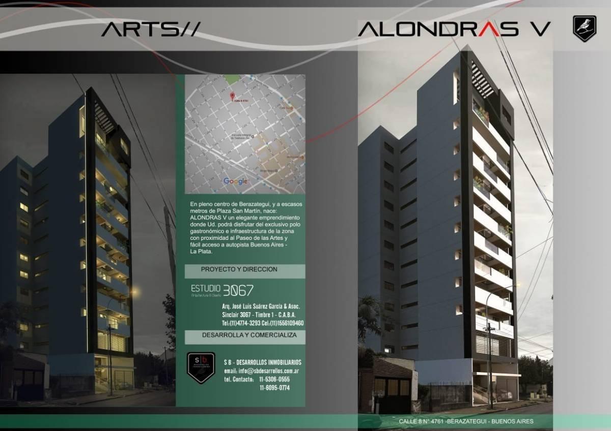 departamento de 2 ambientes en venta en berazategui
