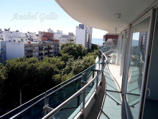 departamento de 2 ambientes externo con balcón corrido y hermosa vista!!