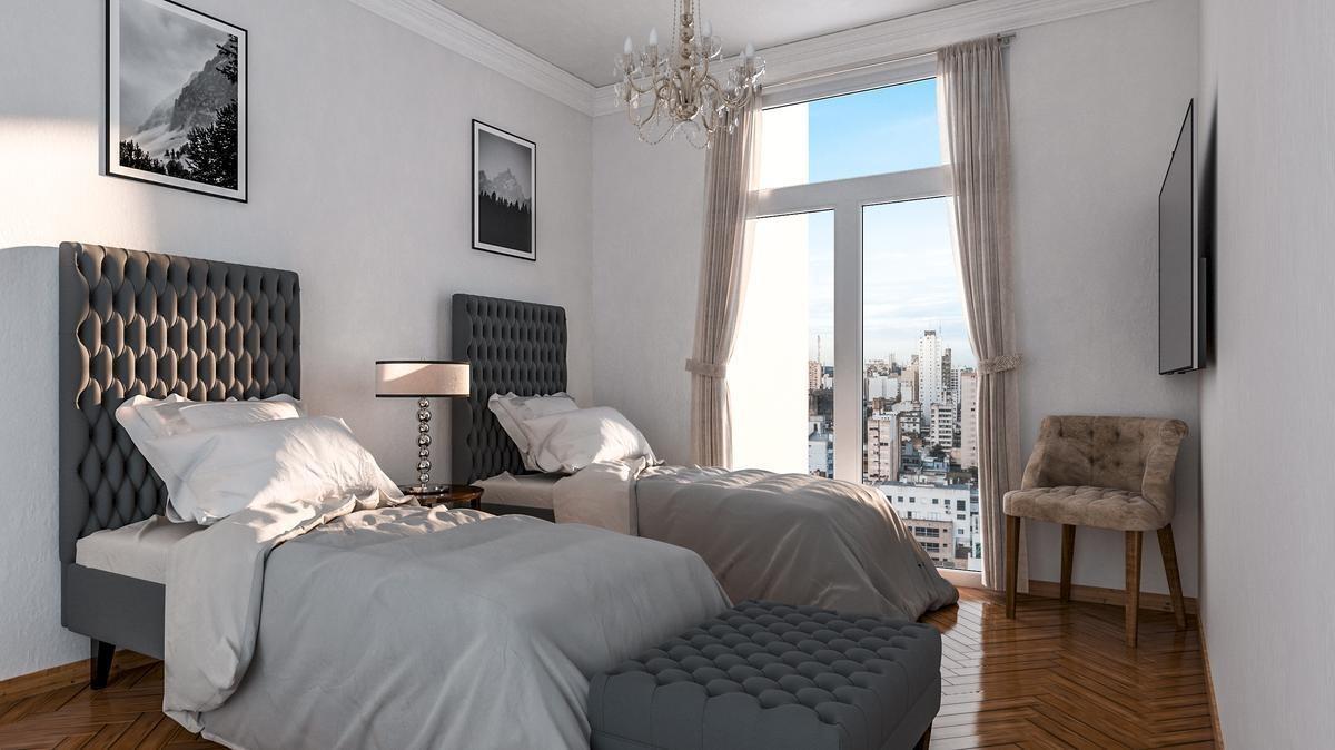 departamento de 2 dormitorios en diagonal 73 entre 54 y 55