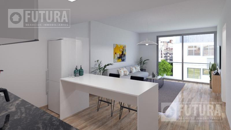 departamento de 2 dormitorios en venta  - centro, rosario - entrega 2021