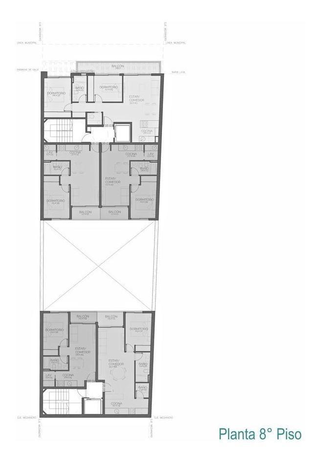 departamento de 2 dormitorios en zona monumento | en pozo | amenidades