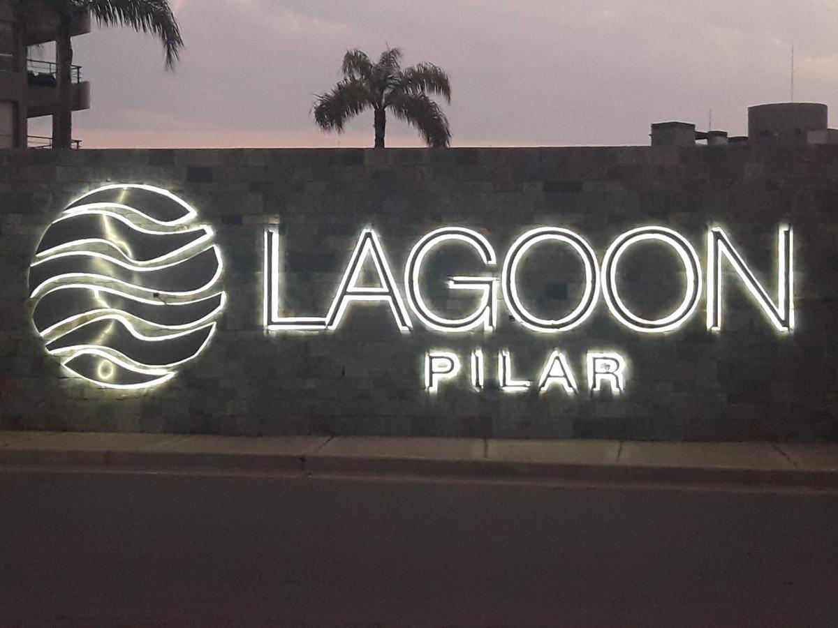 departamento de 3 amb en lagoon pilar vista a la laguna