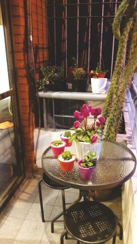departamento de 3 ambientes al frente con balcon en ramos mejia