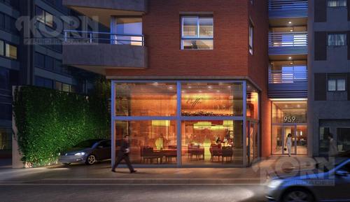 departamento de 3 ambientes c/dos terrazas apto profesional en san telmo en construcción