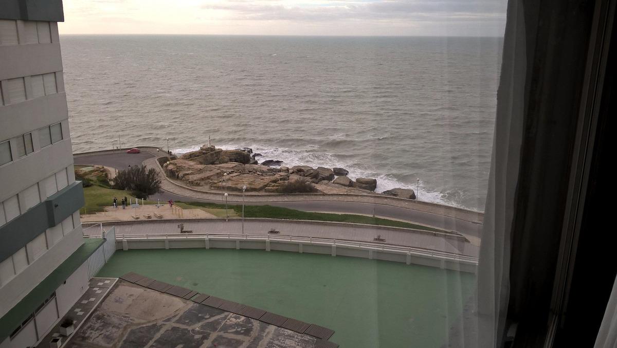 departamento de 3 ambientes con vista parcial al mar en venta mar del plata