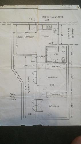 departamento de 3 ambientes en capital federal (120317)