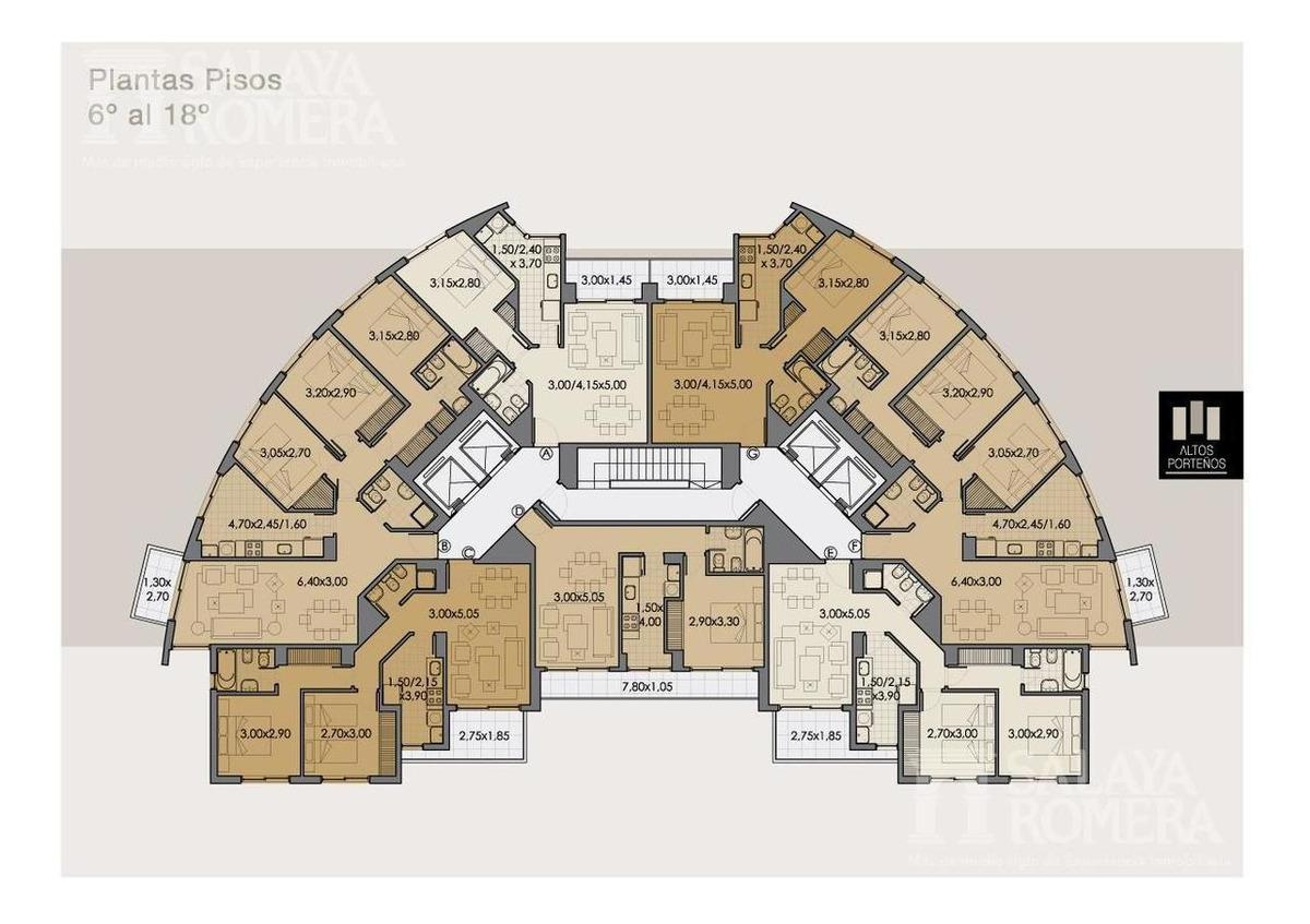 departamento de 3 ambientes en venta en altos porteños precio rebajado