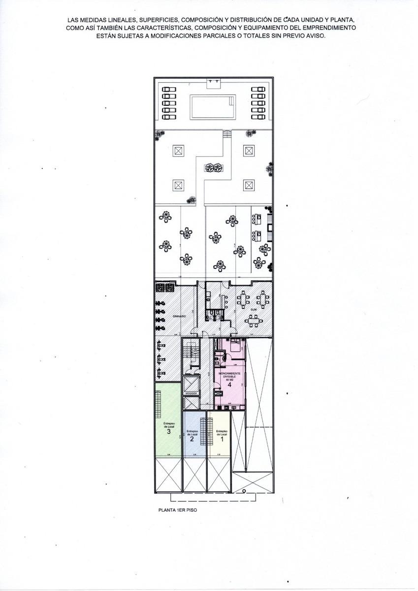 departamento de 3 ambientes venta de pozo