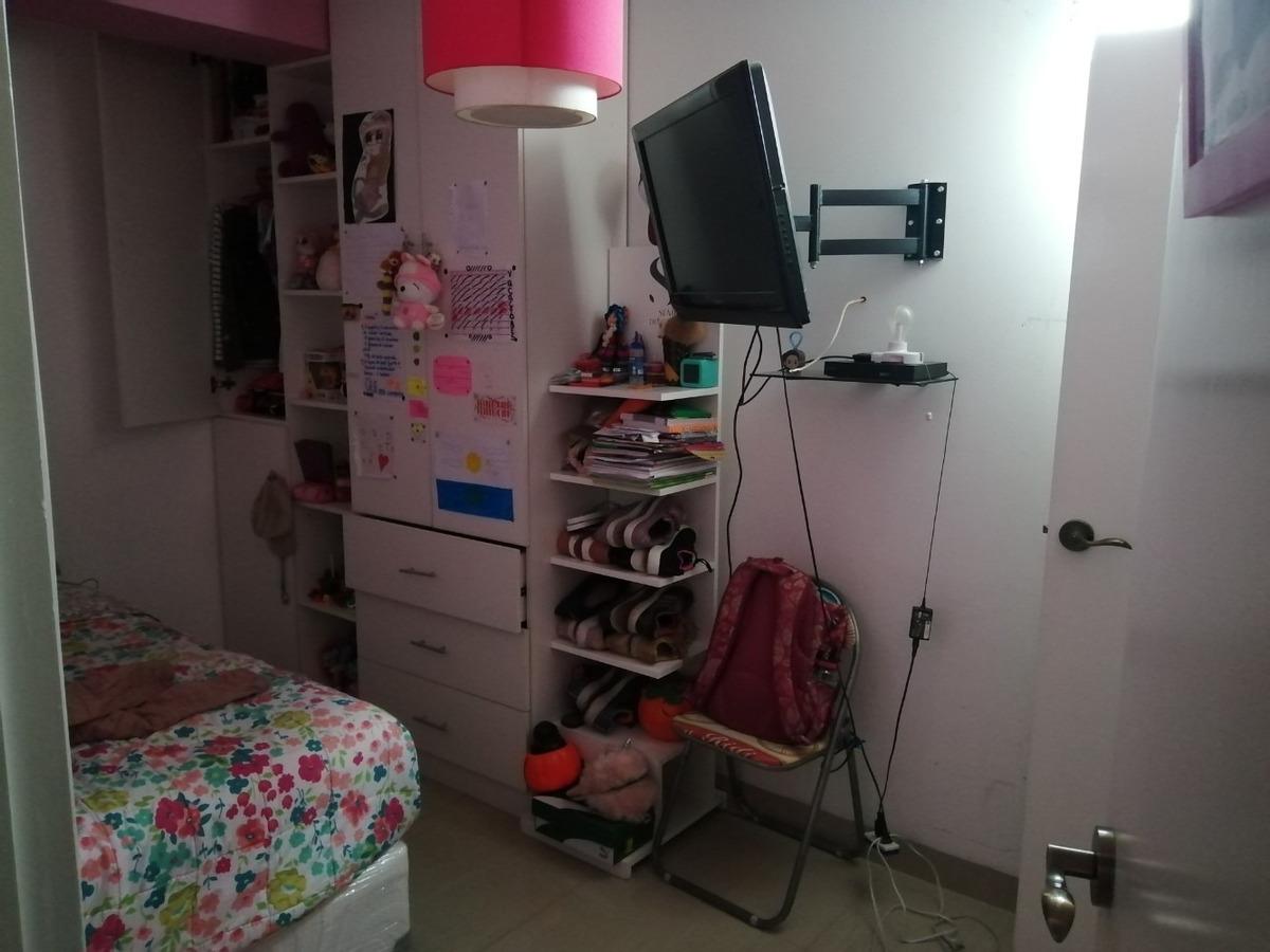departamento de 3 dormitorios c/u con baño