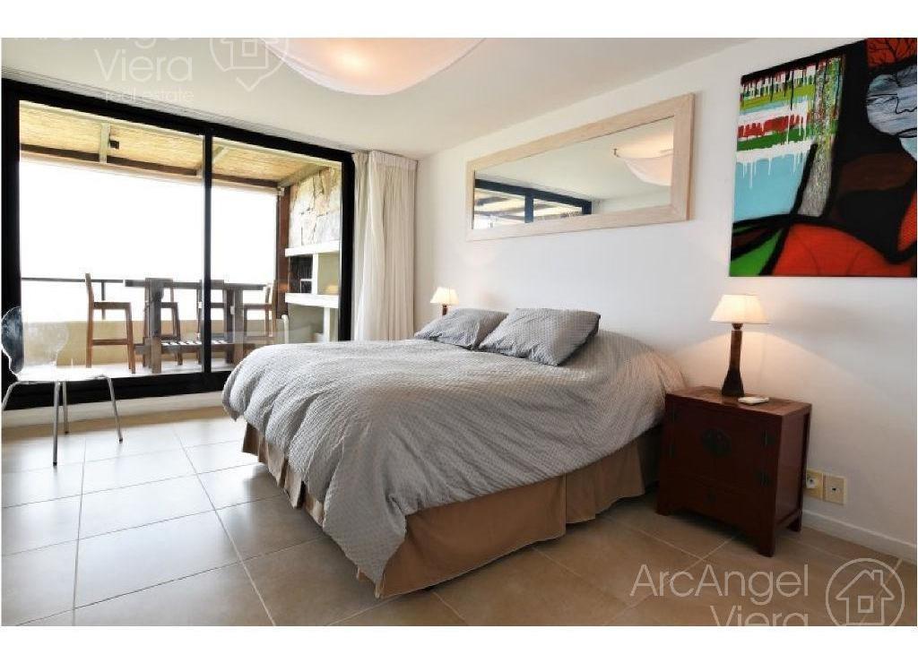 departamento de 3 dormitorios en venta frente al mar - punta ballena