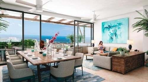 departamento de 3 recamaras en venta, cancún, residencial kaanali.