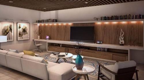 departamento de 3 recamaras en venta en allure puerto cancún, zona hotelera