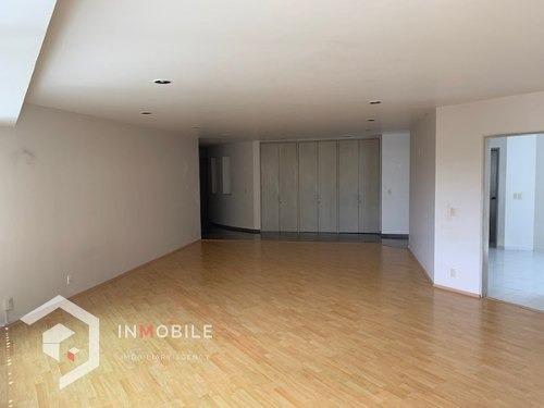 departamento de 305 m2, 3 recámaras, bosques de las lomas.