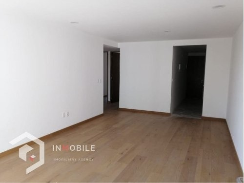 departamento de 93 m2 , 3 recamaras, hipodromo, cdmx.