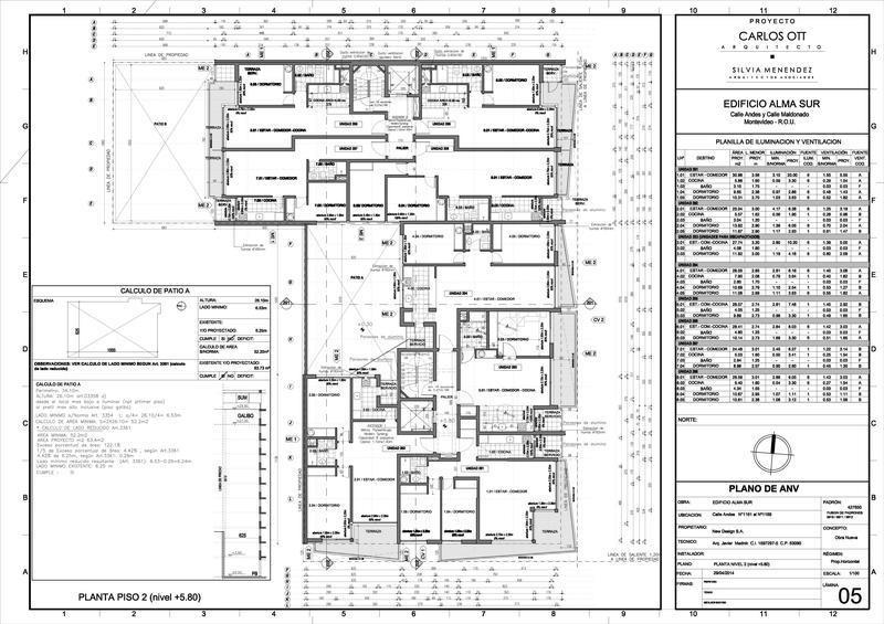 departamento  de cinco  ambientes  - barrio sur