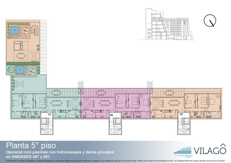 departamento de cuatro ambientes en  puerto escondido