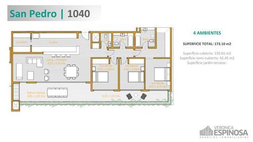 departamento de cuatro ambientes en venta, castelar,  de categoría