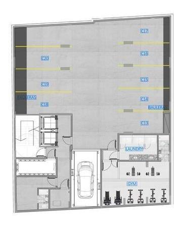 departamento de dos ambientes en gorriti al 6000- palermo hollywood