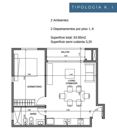 departamento de dos ambientes en ituzaingo,  proyecto en pozo.