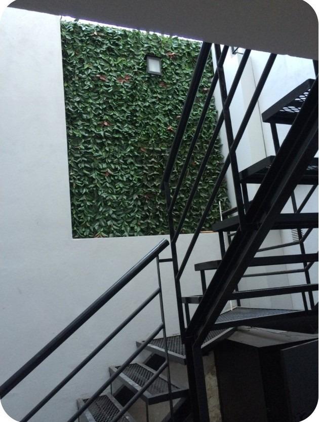 departamento de dos ambientes en planta baja reciclado
