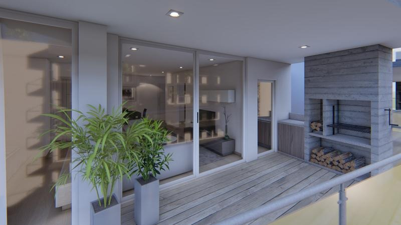 departamento de dos ambientes en venta, tigre, nordelta. excelente proyecto.