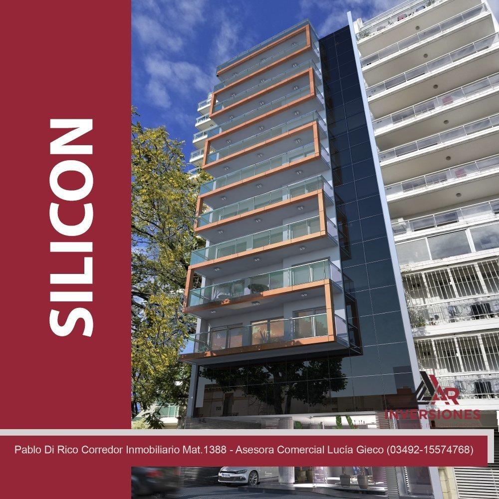 departamento de dos dormitorios en venta - edifico 100% inteligente!! excelente ubicación - rosario