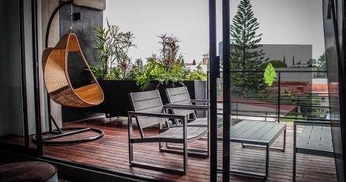 departamento de dos plantas con terraza / zona calzada zavaleta