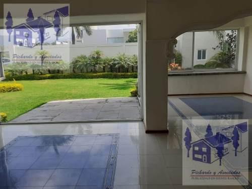 departamento de lujo en renta o venta en residencial mascareño, cuernavaca