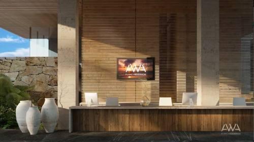 departamento de lujo en venta, ubicado en playa del carmen,  playacar  modelo  a-310