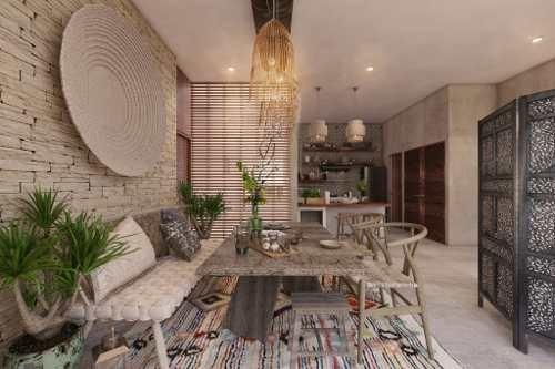 departamento de lujo en venta, ubicados en tulum aldea zama, con retorno de inversión.  manor- model