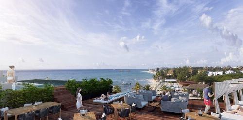 departamento de lujo enfrente del gran caribe