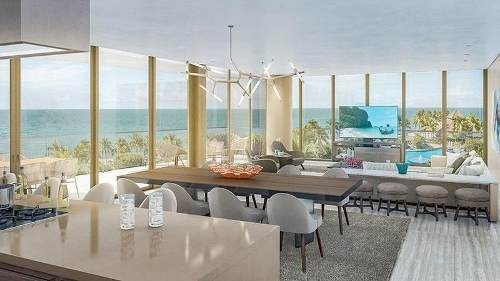 departamento de lujo frente al mar en nuevo vallarta - luma torre 3