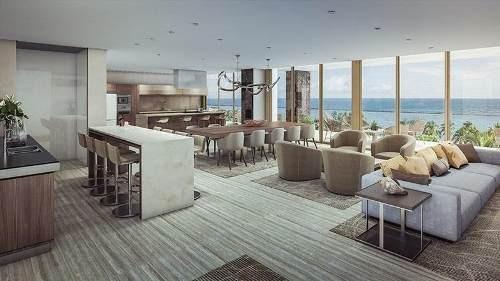 departamento de lujo frente al mar, nuevo vallarta- luma torre 4 3r
