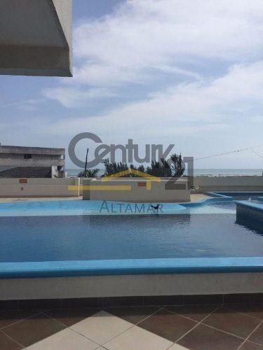 departamento de playa amueblado en venta/renta, playa miramar, cd. madero, tamps.
