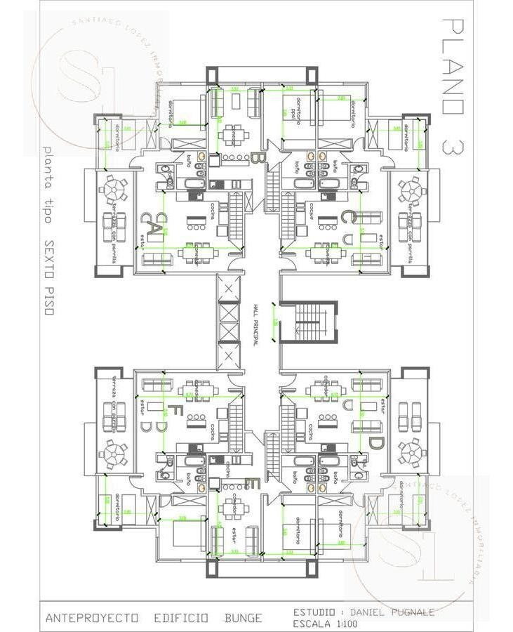 departamento de pozo en pinamar en venta 3 ambientes