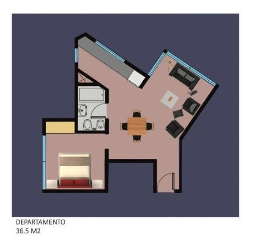 departamento de pozo en venta dos ambientes- zona avellaneda