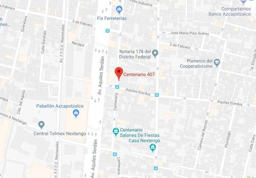 departamento de remate bancario ,centenario 407 azcapotzalco