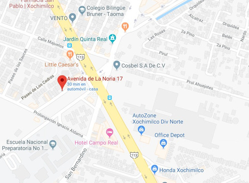 departamento de remate bancario en la noria 17 xochimilco