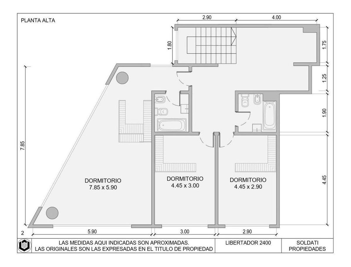 departamento de tres ambientes en olivos
