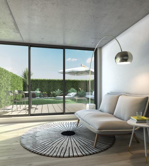 departamento de tres ambientes en uruguay - barrio sur