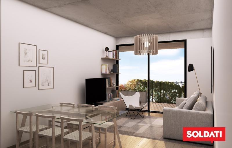 departamento de tres ambientes en venta en  saavedra