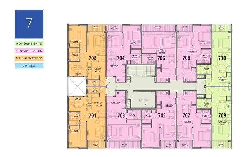 departamento de un ambiente en potosí al 4300- p.centenario