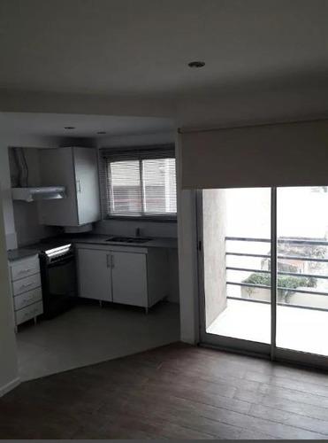 departamento de un dormitorio con balcón apto banco. - la plata