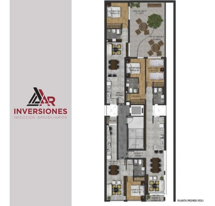 departamento de un dormitorio zona pichincha con pileta - ideal inversión!!