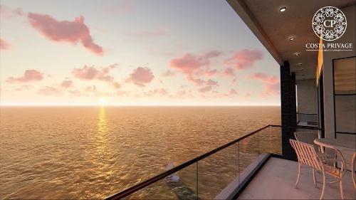 departamento del mar en venta rosarito