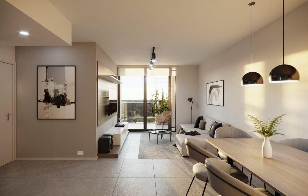 departamento departamento de 1 dormitorio de 47 m2. financiado hasta su entrega.