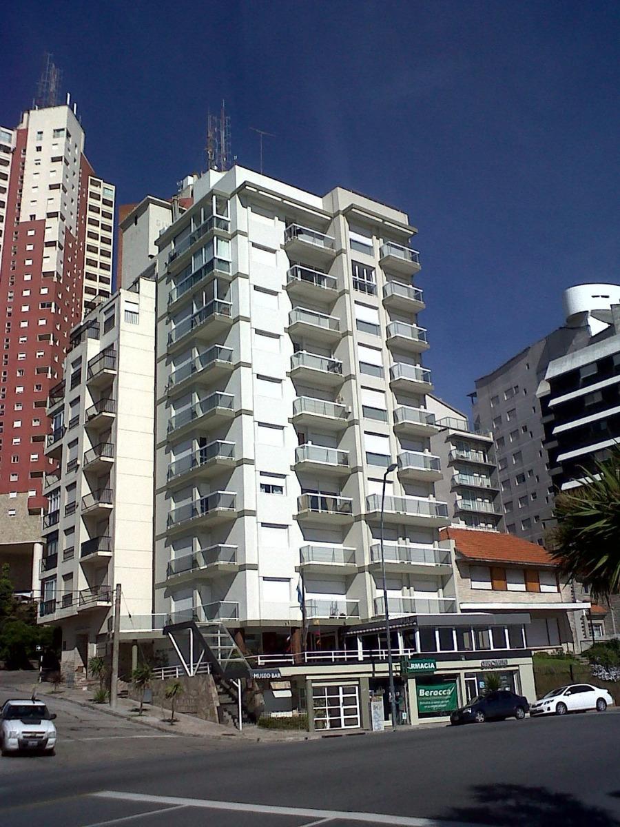 departamento dos ambientes  con  balcón y vista al mar